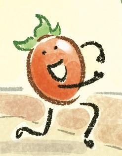 Running tomato