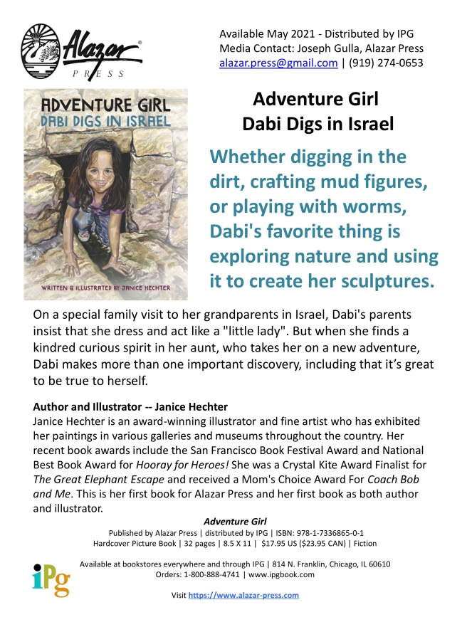Adventure Girl Press Release